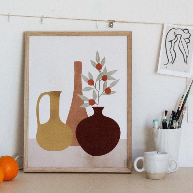 Sienna - Affiche en papier