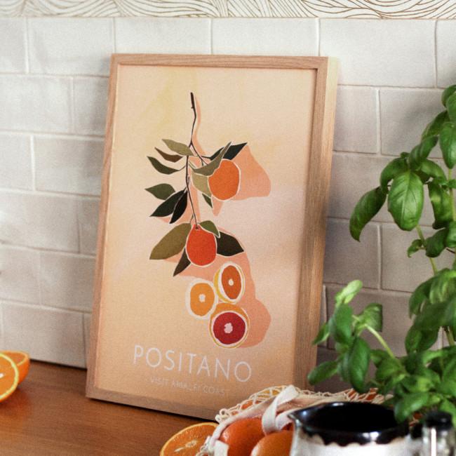 Positano - Affiche en papier