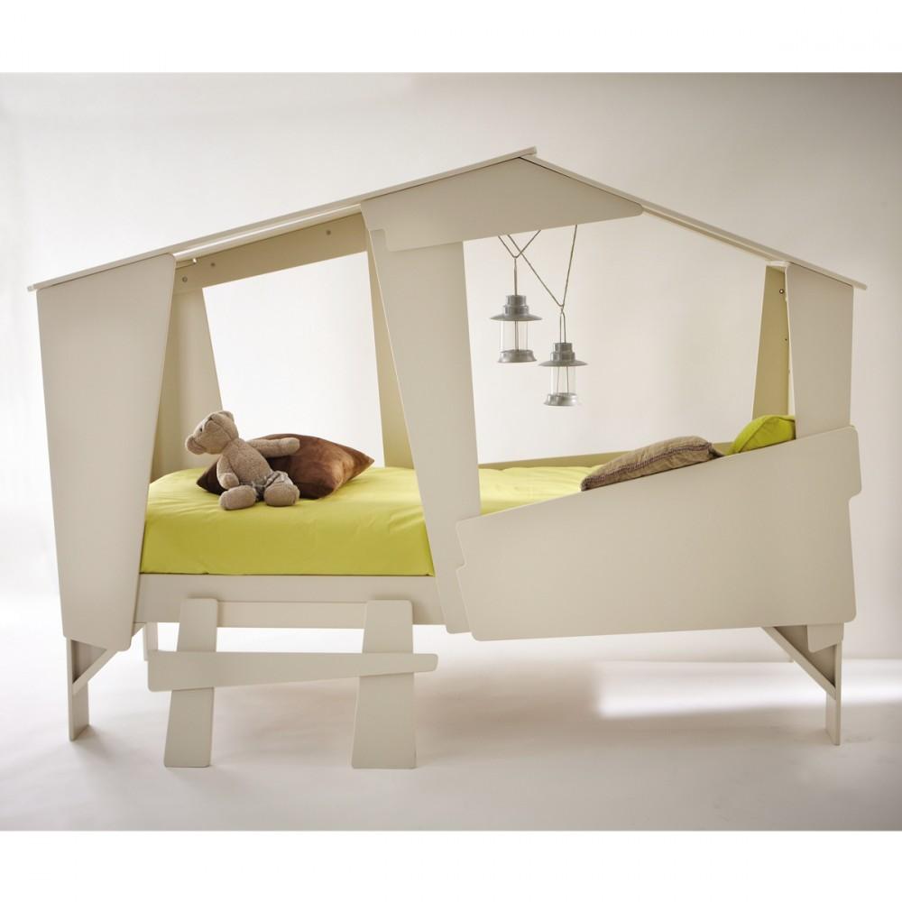 lit enfant cabane. Black Bedroom Furniture Sets. Home Design Ideas