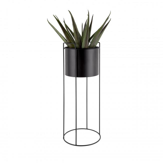 Essence - 3 cache-pots rond en métal