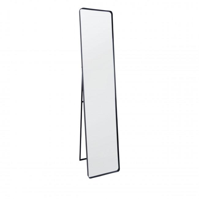 Esthetic - Miroir rectangulaire en métal noir
