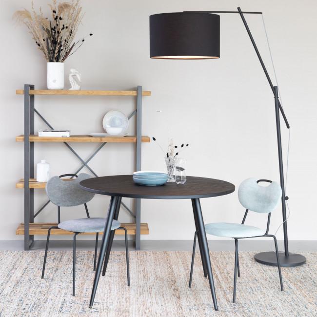 Aspen - 2 chaises en tissu et métal