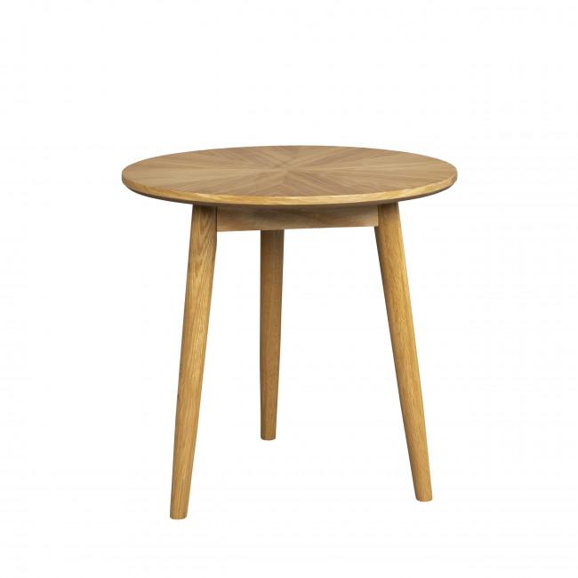Fabio - Table d'appoint ronde en bois ø50cm