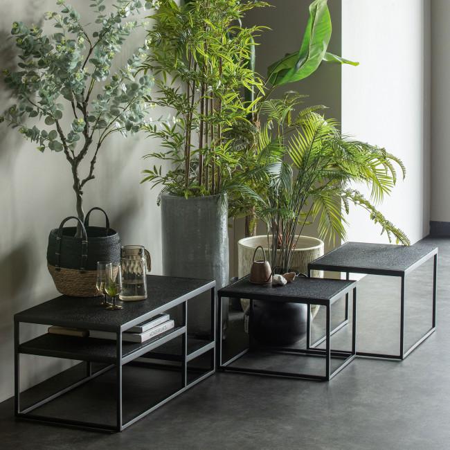 Febe - 2 tables basses en métal