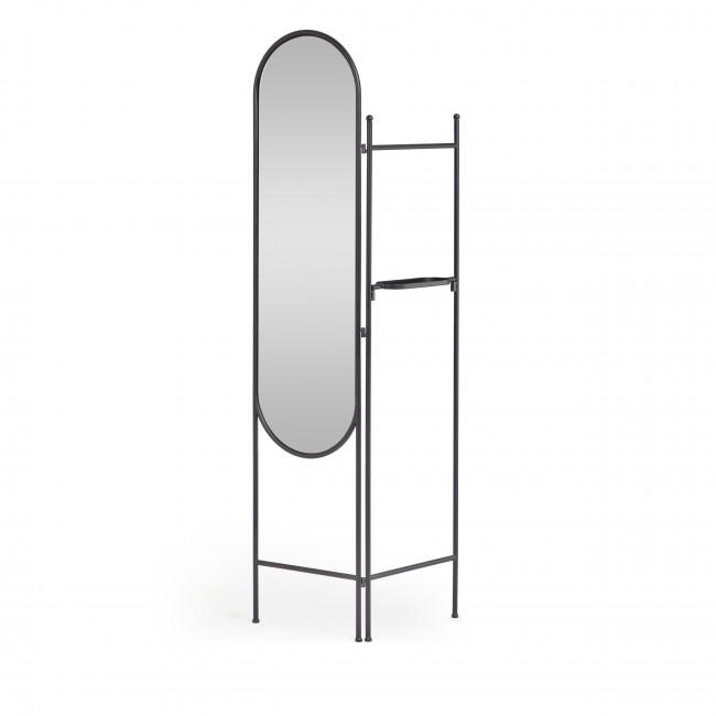 Vaniria - Paravent avec miroir en métal