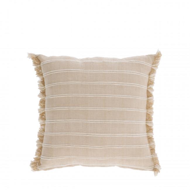 Sweeny - Housse de coussin à rayures 100% coton 45x45cm