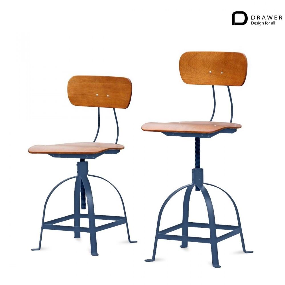 chaise architecte style industriel jb pennel drawer. Black Bedroom Furniture Sets. Home Design Ideas