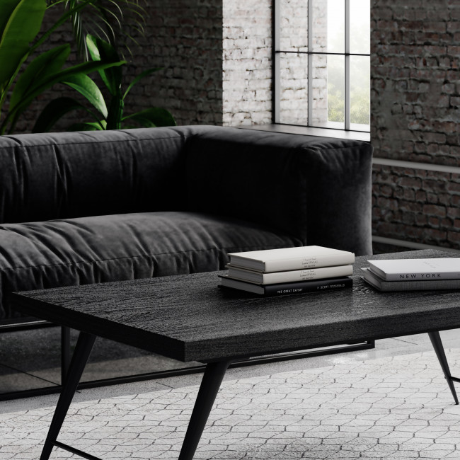 Ohio - Table basse en bois 125x75cm