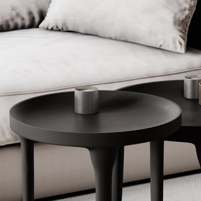 Trip - Table basse en aluminium