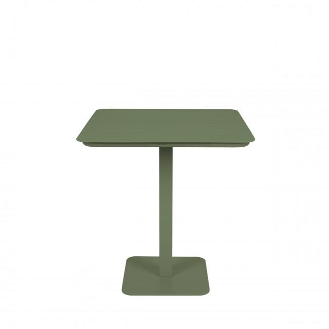 Vondel - Table à manger de jardin bistrot en métal 71x71cm