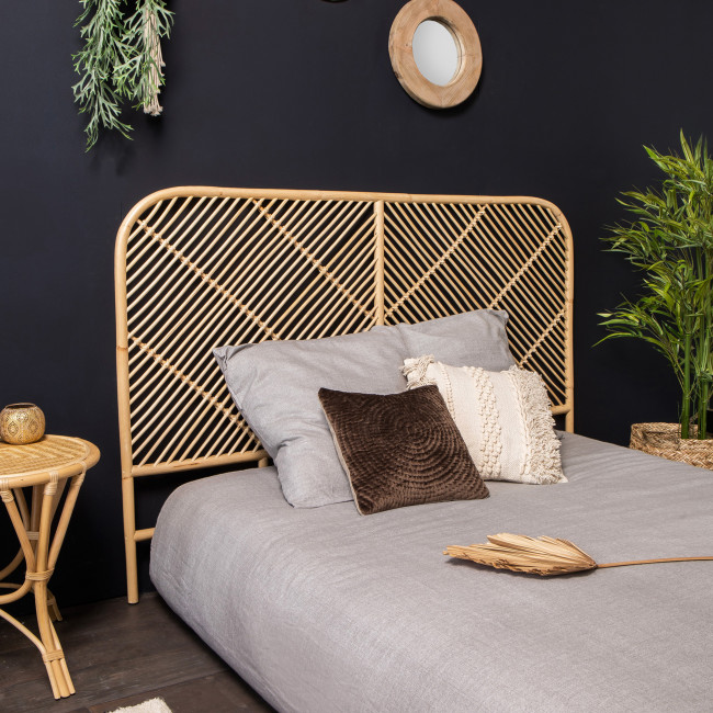 Kayan - Tête de lit en rotin 148cm