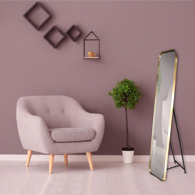 Talya - Miroir sur pied 30x150 cm
