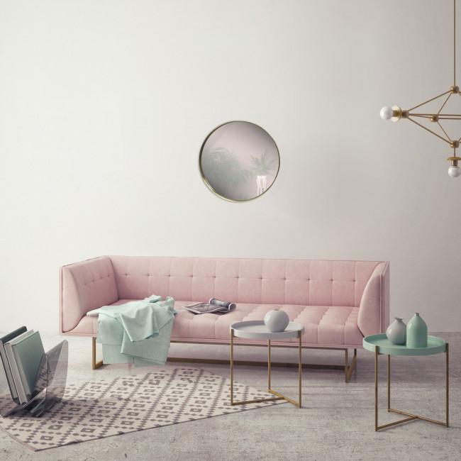 Izïa - Miroir rond ø50 cm