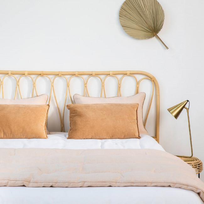 Atilan - Tête de lit en rotin 148cm