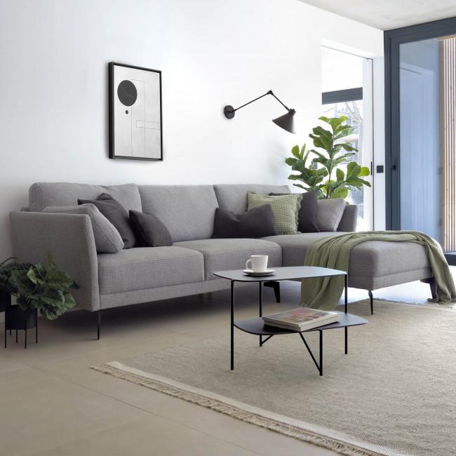 Gilma - Canapé d'angle 3 places avec méridienne droite