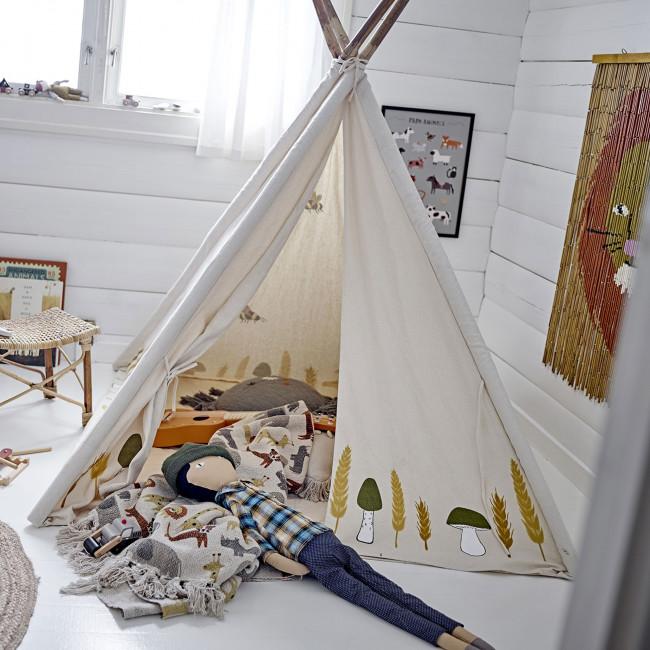 Millo - Tipi enfant en bambou et tissu