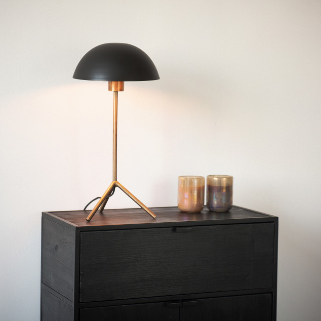Jive - Lampe à poser champignon en métal