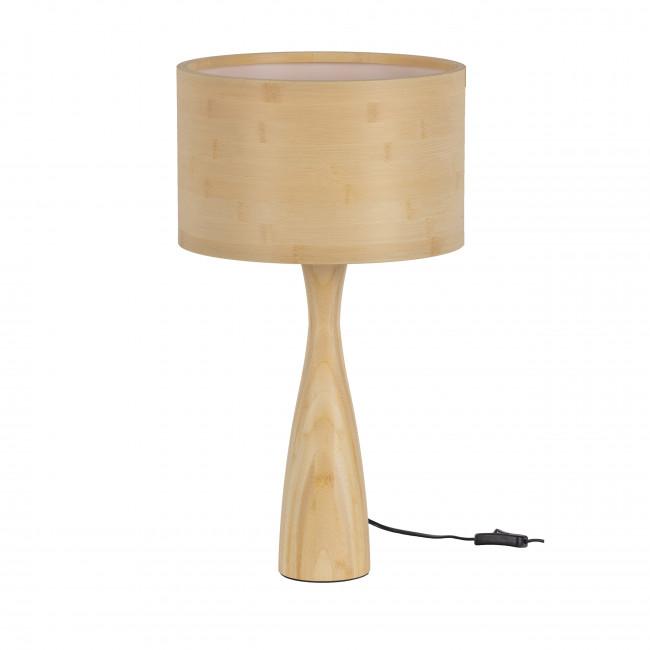 Lunar - Lampe à poser en bois