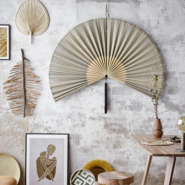 Jaime - Éventail mural en bambou