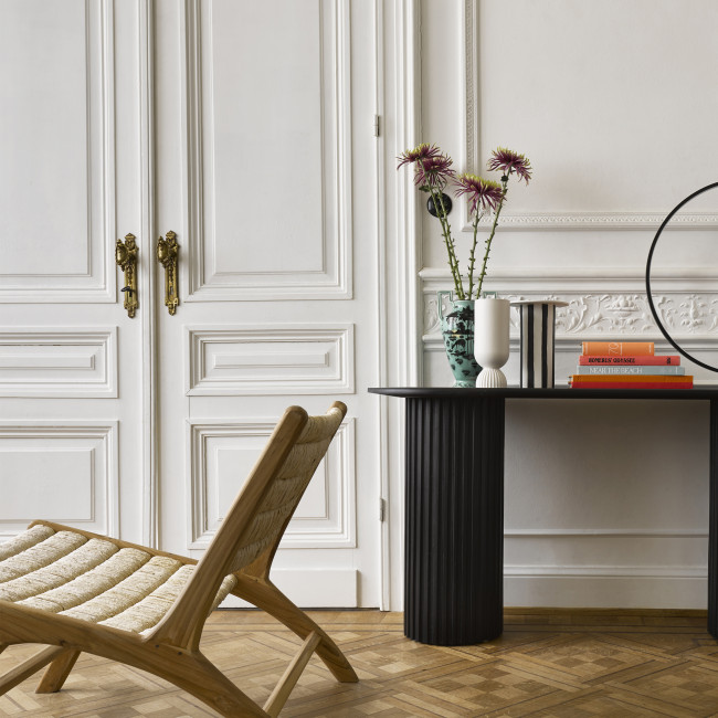 Tambunan -  Fauteuil lounge en teck