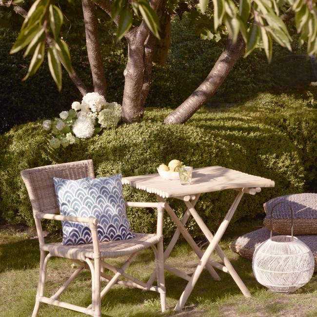 Table de jardin en teck Havana