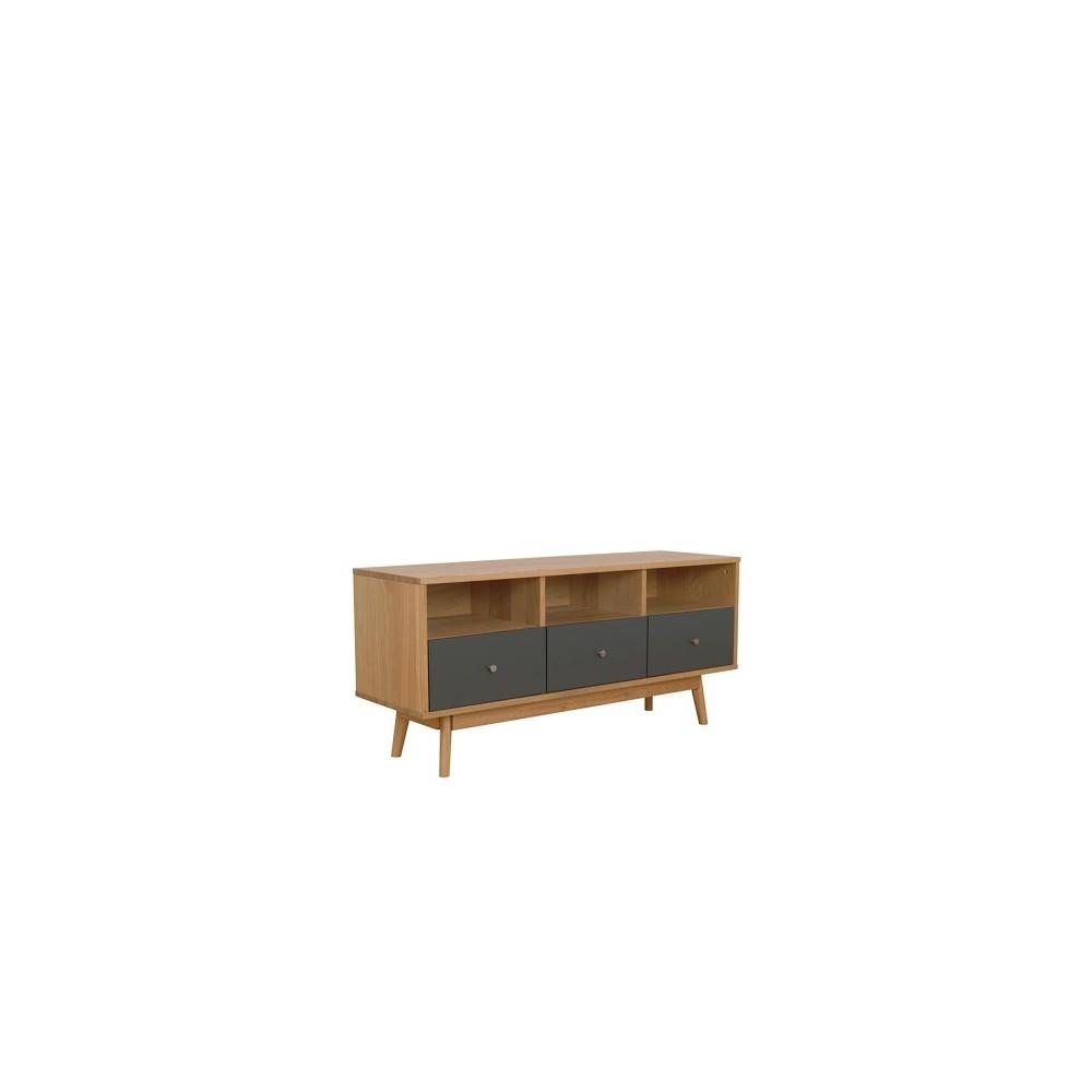 meuble tv scandinave skoll by drawer. Black Bedroom Furniture Sets. Home Design Ideas