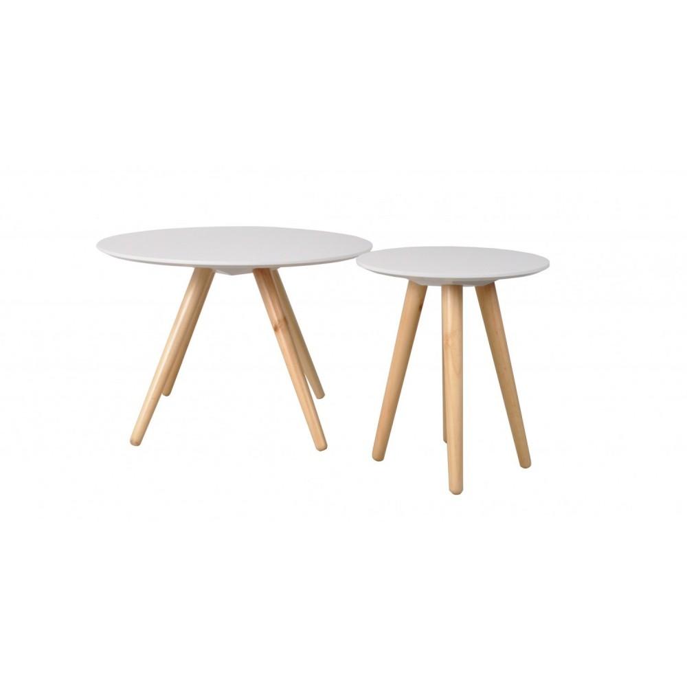 Table basse scandinave en bois bee zuiver Table basse scandinave bois massif