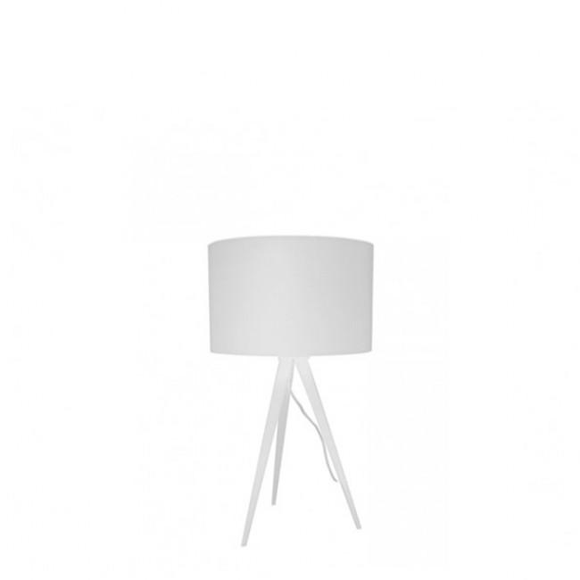 Lampe à poser Tripod laque Mini blanche