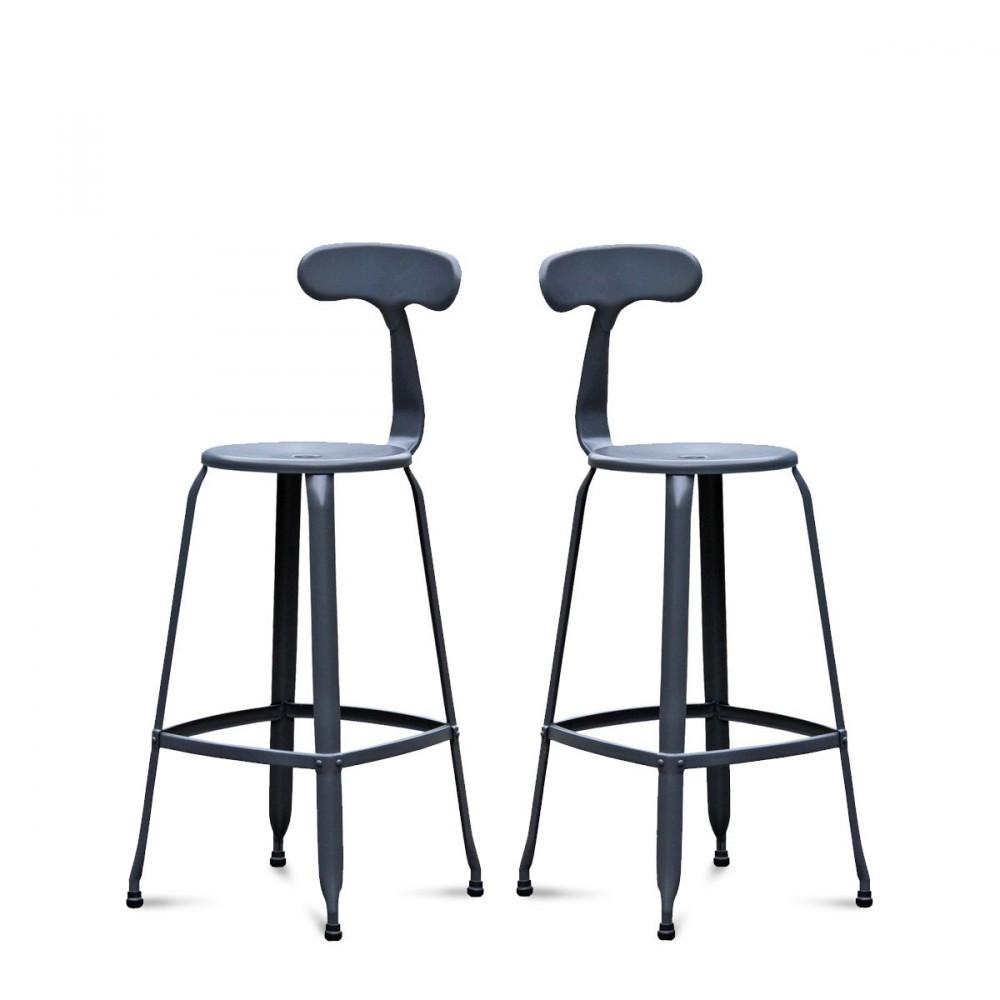 d coration tabouret de bar arno gris 19 calais tabouret de bar scandinave ikea tabouret de. Black Bedroom Furniture Sets. Home Design Ideas