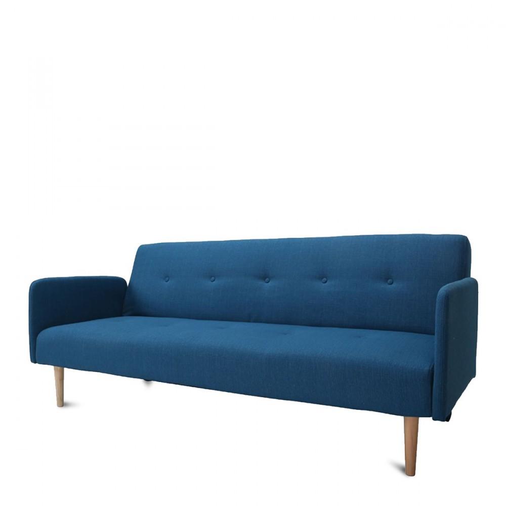 Canap lit niels bleu au design scandinave - Canape convertible avis ...
