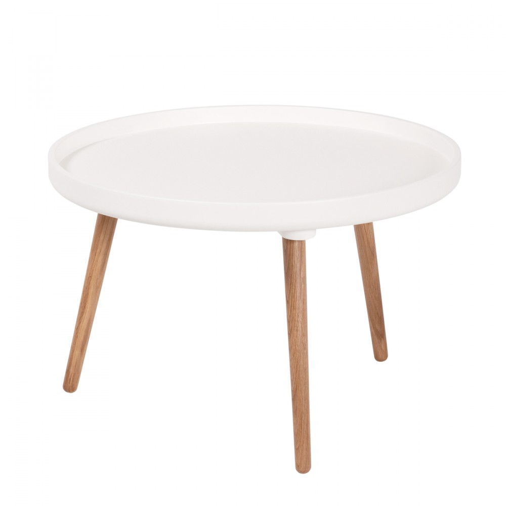 Table basse scandinave kompass 55 by drawer for Table basse blanche pied bois