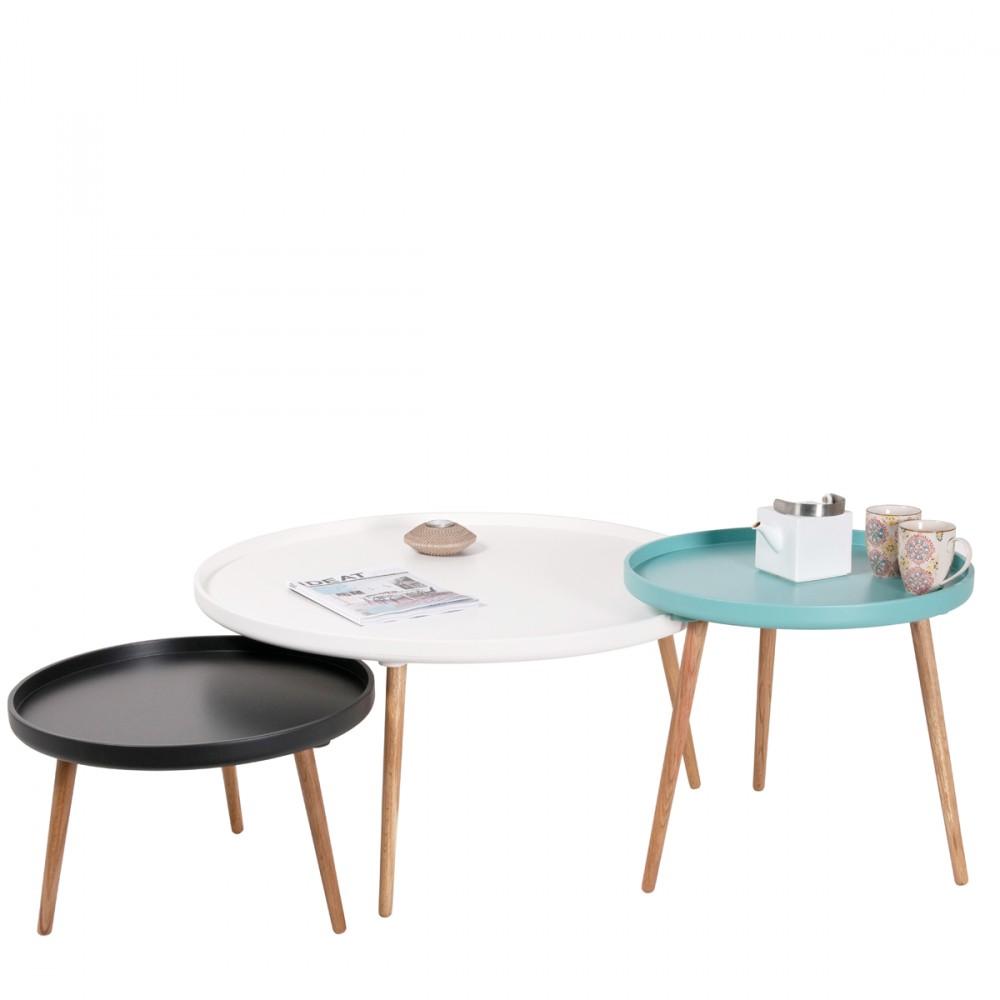 table basse design kompass 90 by. Black Bedroom Furniture Sets. Home Design Ideas