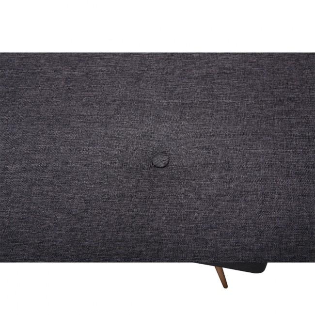 Canapé Convertible scandinave Siri noir detail couleur