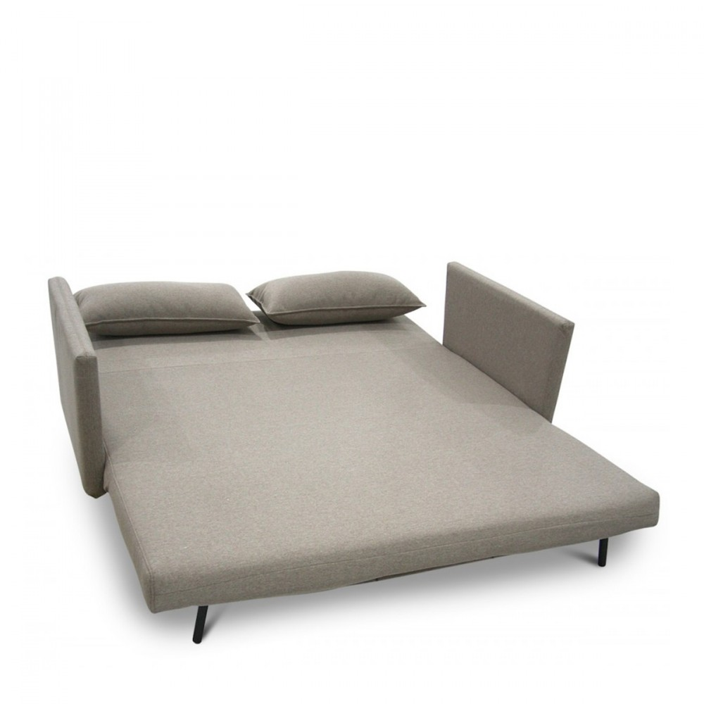 Canap 3 places design tissu convertible george for Canape confortable et pas cher
