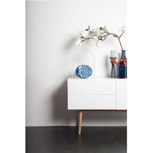 Buffet-design Buffet design 1 porte 2 tiroirs High Wood blanc ambiance