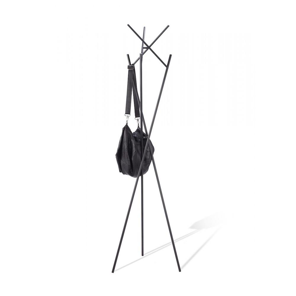 porte manteau design noir nestor by drawer. Black Bedroom Furniture Sets. Home Design Ideas