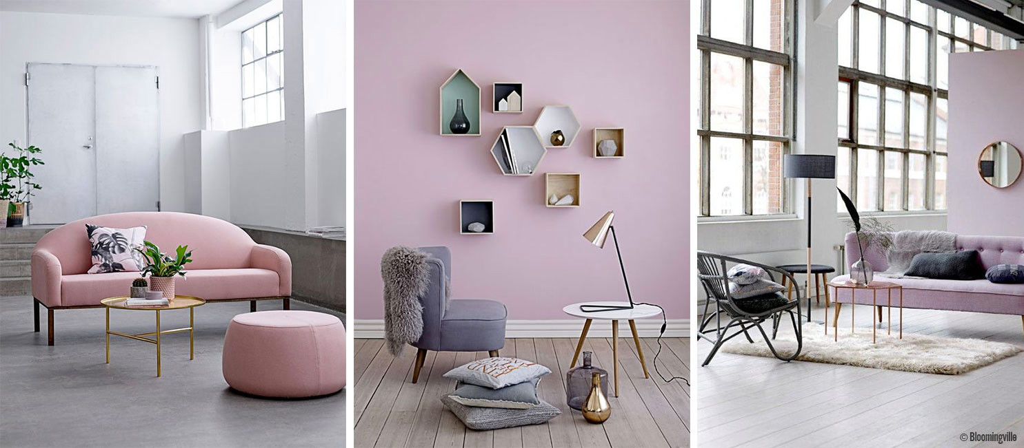salon style scandi rose