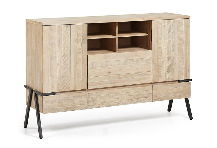 Buffet design en bois massif Spike