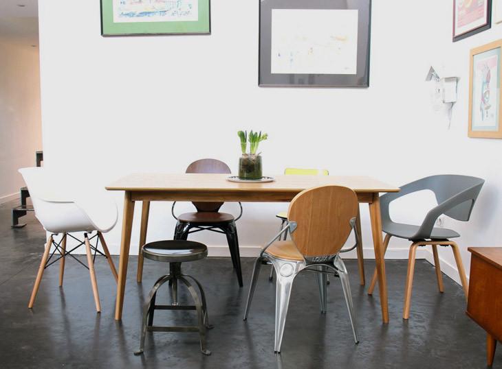 Mixer Les Chaises Autour De Sa Table à Manger By Drawer