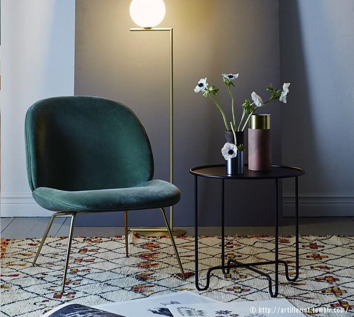 tendances d co 2018 le velours et les couleurs adopter drawer. Black Bedroom Furniture Sets. Home Design Ideas