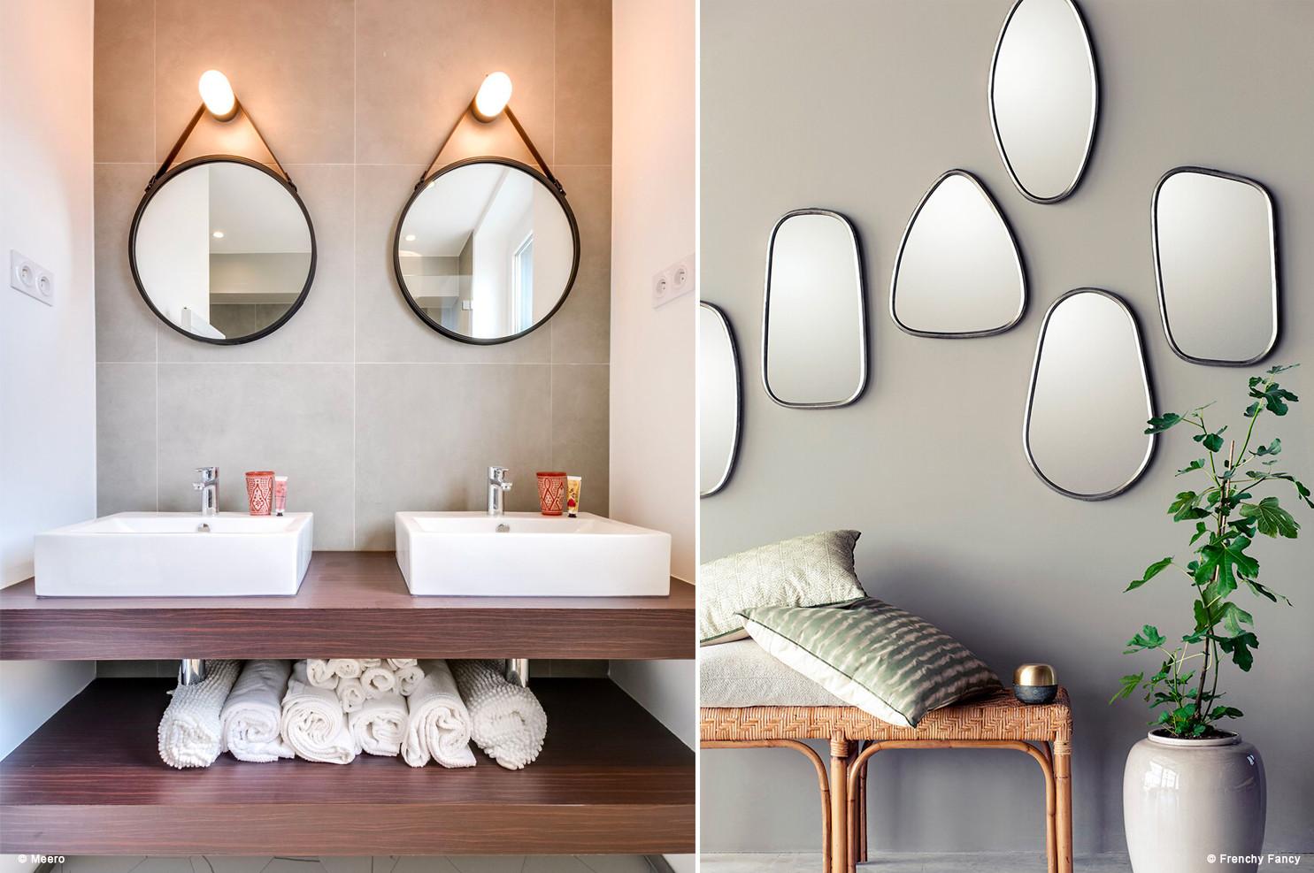 Comment Disposer Des Cadres Au Dessus D Un Canapé déco : réaliser une jolie composition de miroirs !drawer
