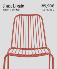 chaise jardin lineate Leïtmotiv