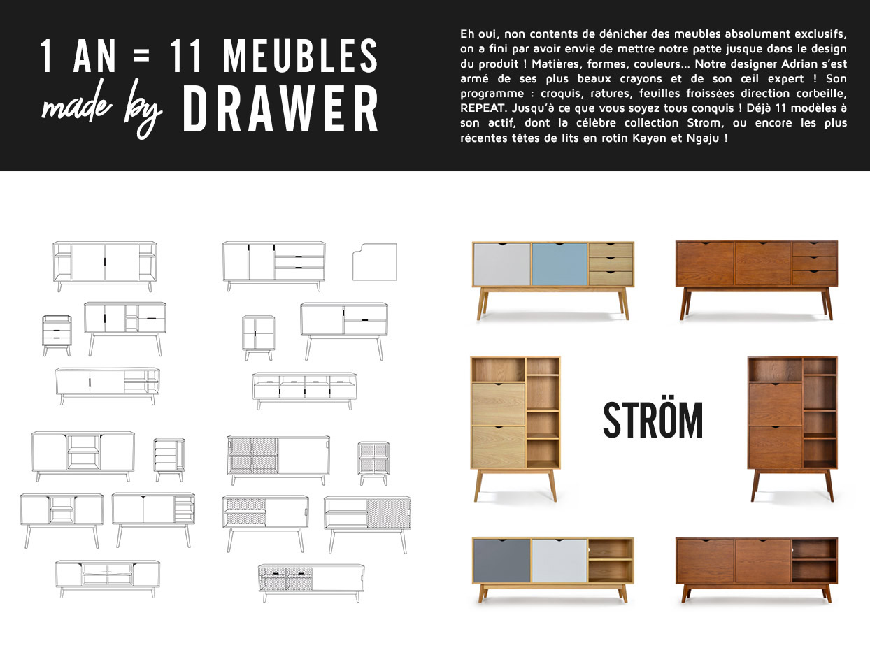 Collection Ström by Drawer
