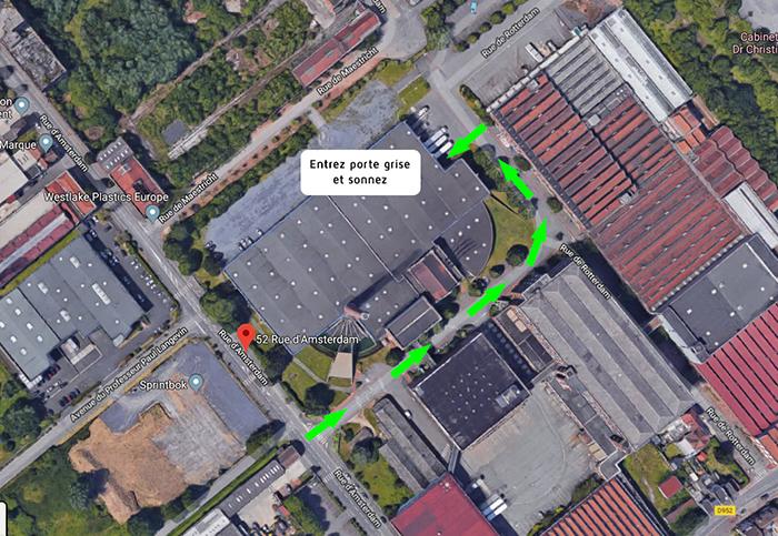 plan entrepôt Drawer