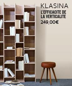 bibliotheque design klasina