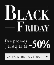 Black friday meubles et design