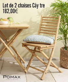 chaise bambou cay tre pomax