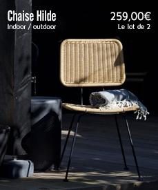 chaise Hilde