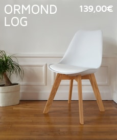 chaises design ormond log