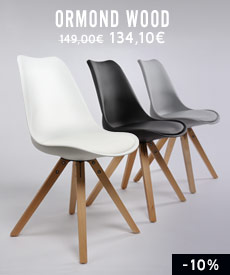 chaise design ormond wood